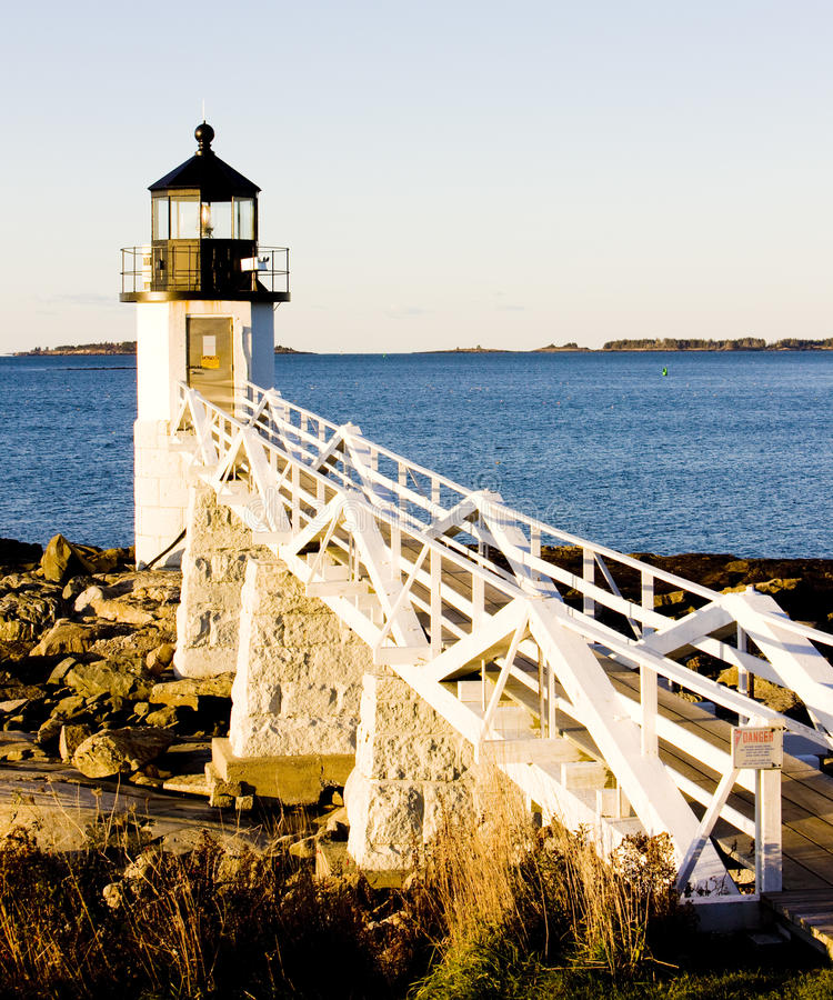 Download Marshall Point Lighthouse stock photo. Image of building - 28526736