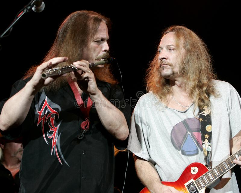 Marshall Tucker Band Performs de concert images stock