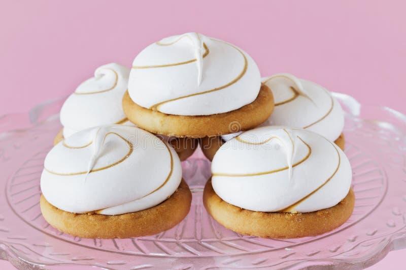 Marshmallow μπισκότα στοκ εικόνα
