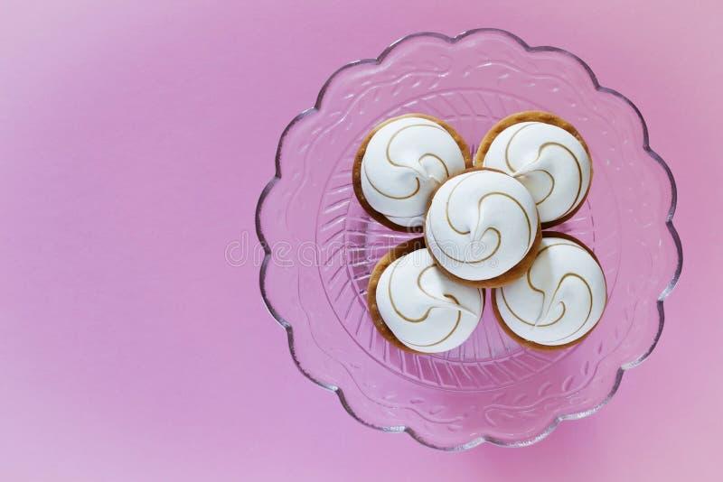 Marshmallow μπισκότα στοκ φωτογραφία με δικαίωμα ελεύθερης χρήσης