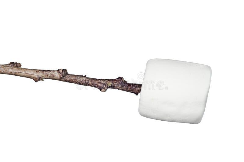 marshmallow ραβδί στοκ εικόνες με δικαίωμα ελεύθερης χρήσης