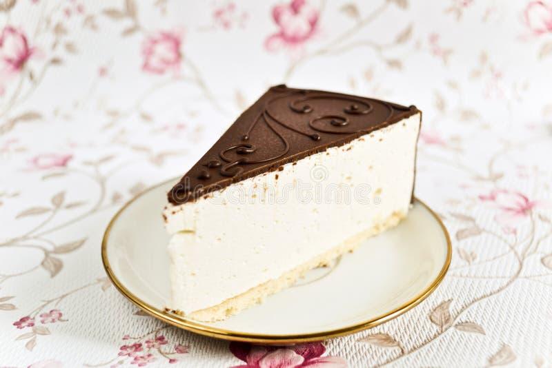 Marshmallow cake stock images