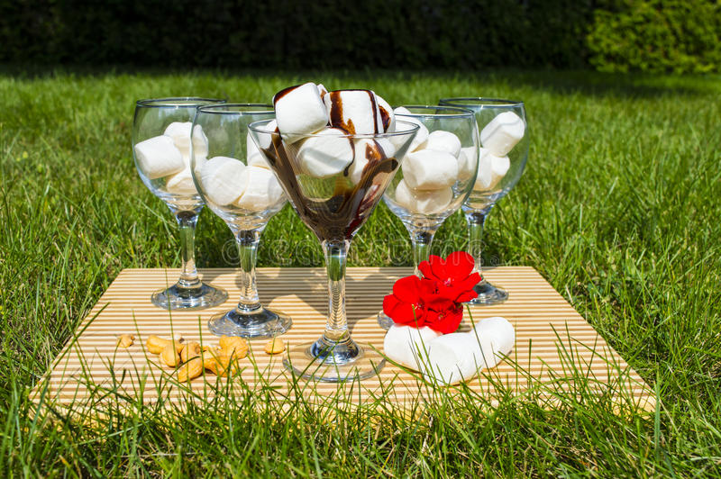 Marshmallow Extravaganza stock photography