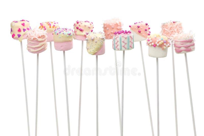 Marshmallow wystrzały fotografia royalty free