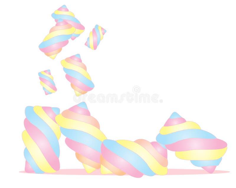 Marshmallows ilustracji