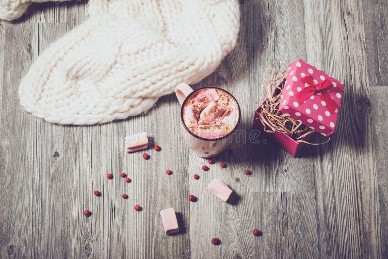 Marshmallows και παρόν καφέ