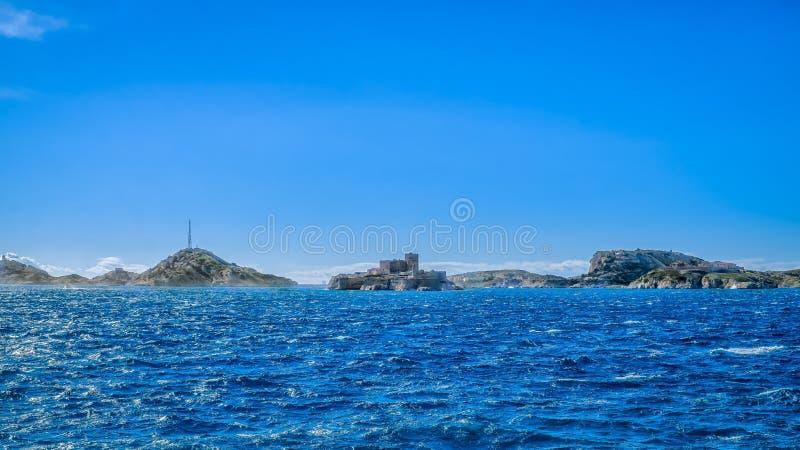 Marsiglia l'arcipelago di Frioul fotografia stock libera da diritti