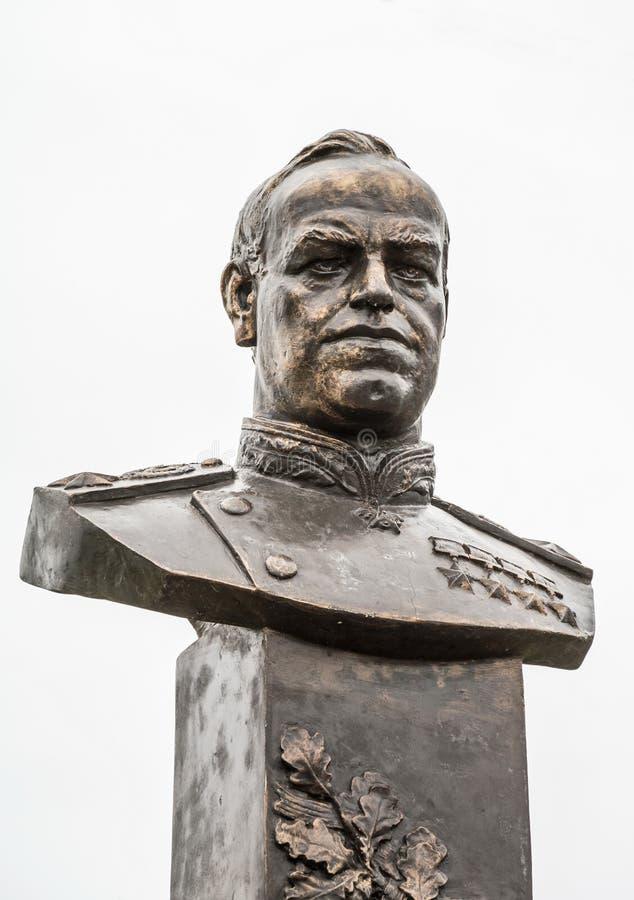 Marskalk av Sovjetunionen Georgy Zhukov royaltyfri bild
