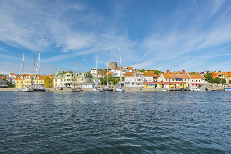 Marstrand in Sweden royalty free stock images