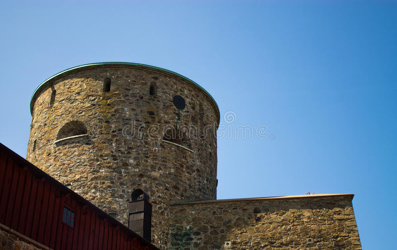 Marstrand town, Sweden stock photography
