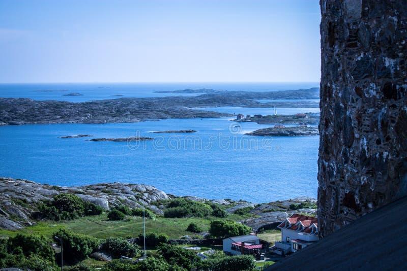 Marstrand town, Sweden stock image