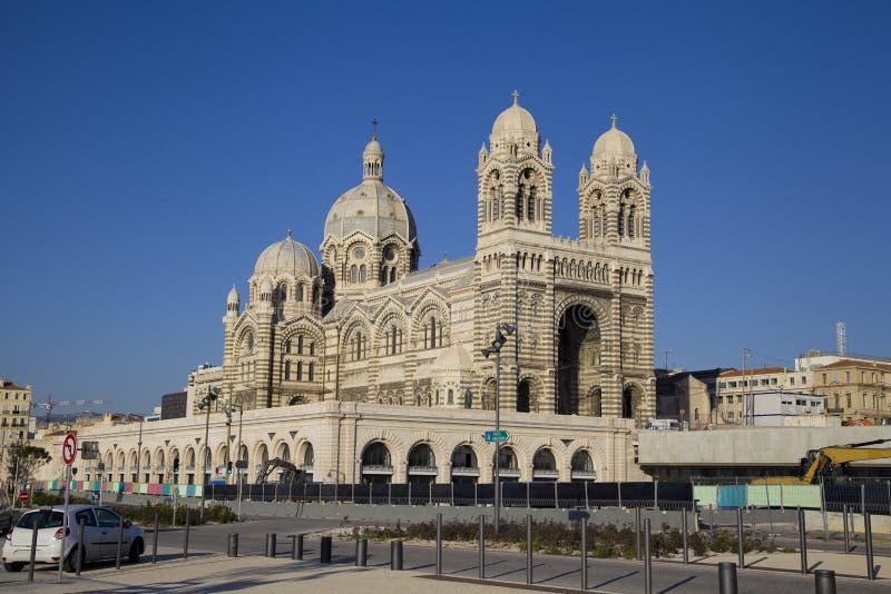 Marsylska katedra obraz stock