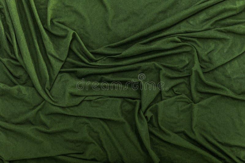 Marszczący Aksamitny Sukienny tekstury tło zdjęcie stock