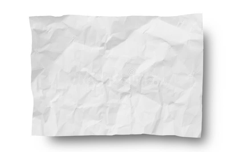 Marszczący papier obrazy stock