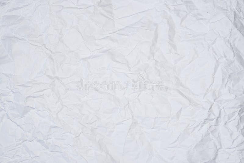 Marszczący prześcieradło papier zdjęcia royalty free