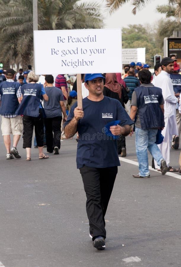 marszu uczestników pokój obrazy royalty free