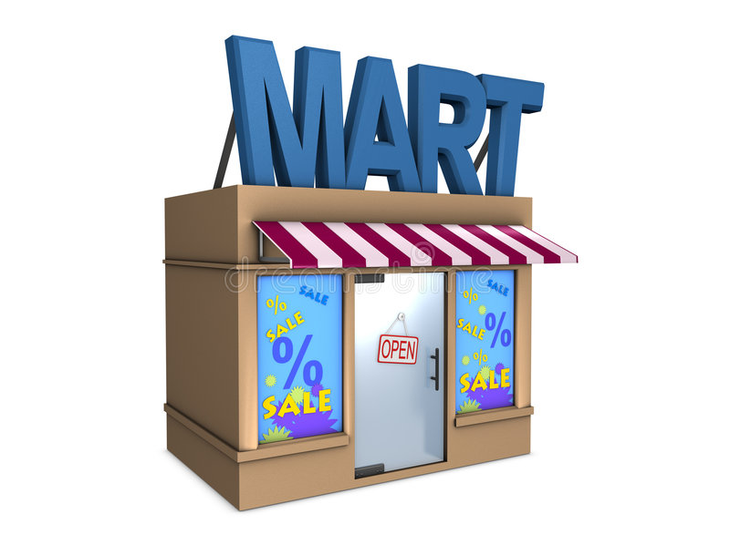 Download Mart Stock Photography - Image: 7583802