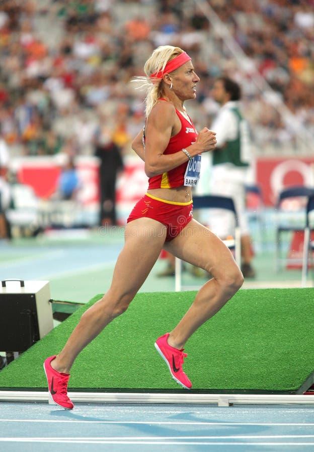 Marta Domínguez de Spain imagem de stock