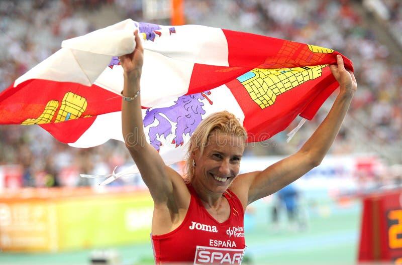 Download Marta Dominguez Celebrates Silver Editorial Stock Photo - Image: 16284938