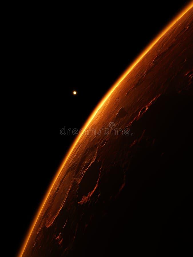 Marte ilustração do vetor