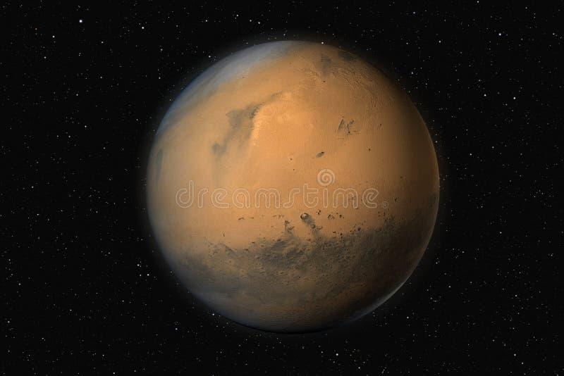 Marte fotografía de archivo