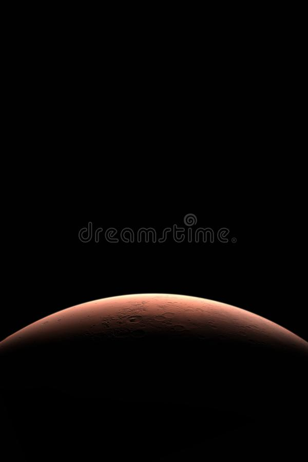 marte Planetas no sistema solar fotografia de stock