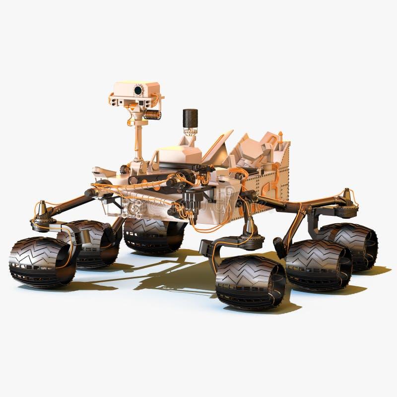 Marte Rover Curiosity immagini stock