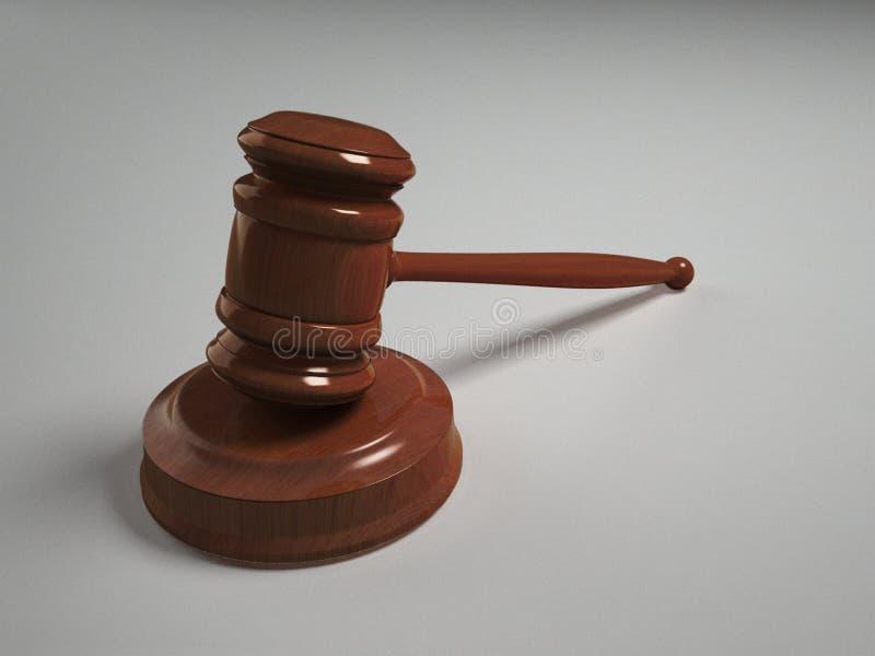 Marteau de juge photographie stock libre de droits
