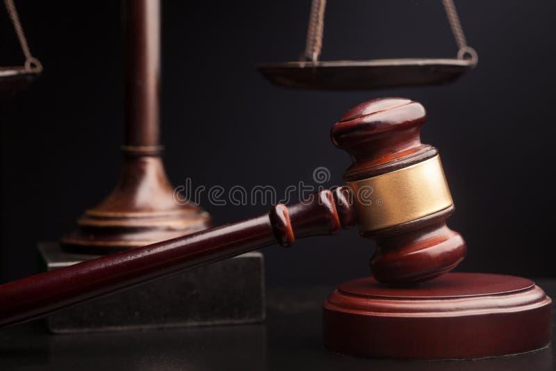 Marteau de jugement photo libre de droits