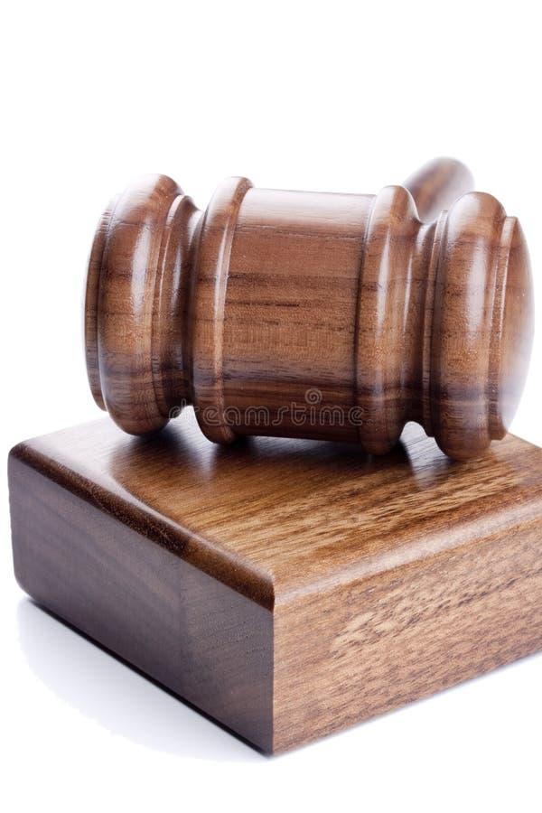 Marteau en bois image libre de droits