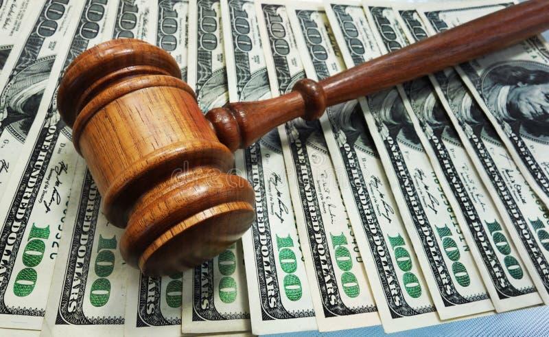 Martelletto di legge immagine stock libera da diritti