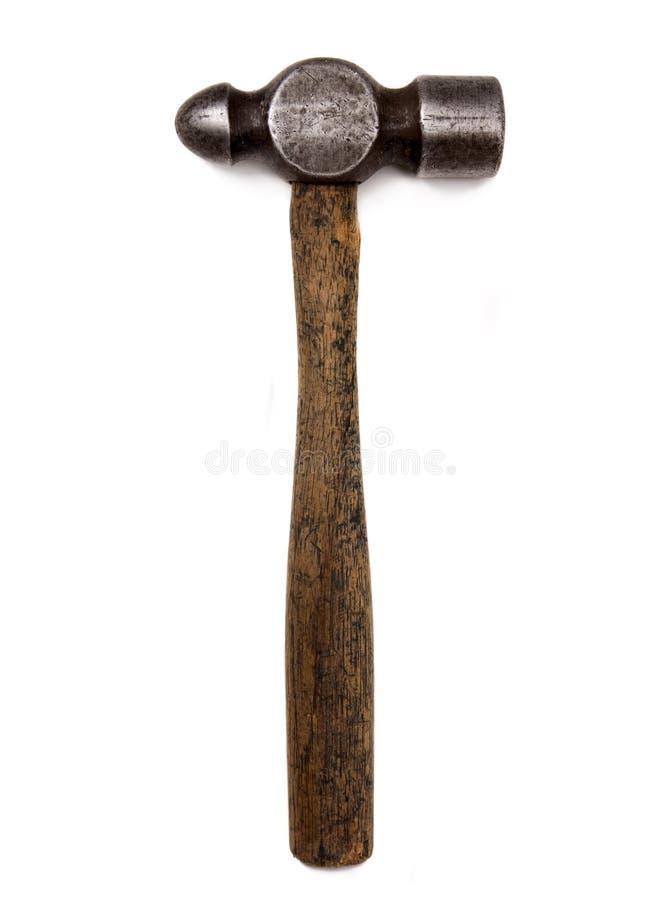 martello della penna della sfera dell'annata fotografie stock libere da diritti