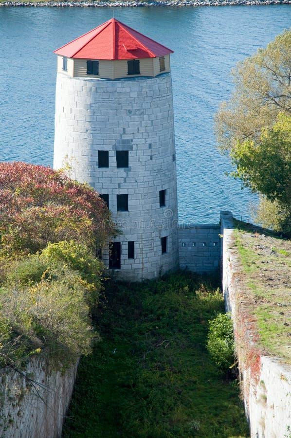 Martello torn i Kingston, Ontario royaltyfri foto