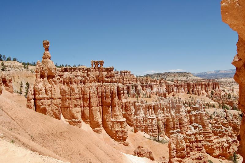 Martelo Bryce Canyon National Park Utah do ` s do Thor foto de stock royalty free