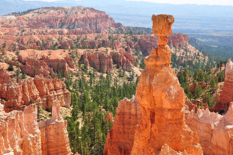 Martelo de Bryce Canyon imagem de stock