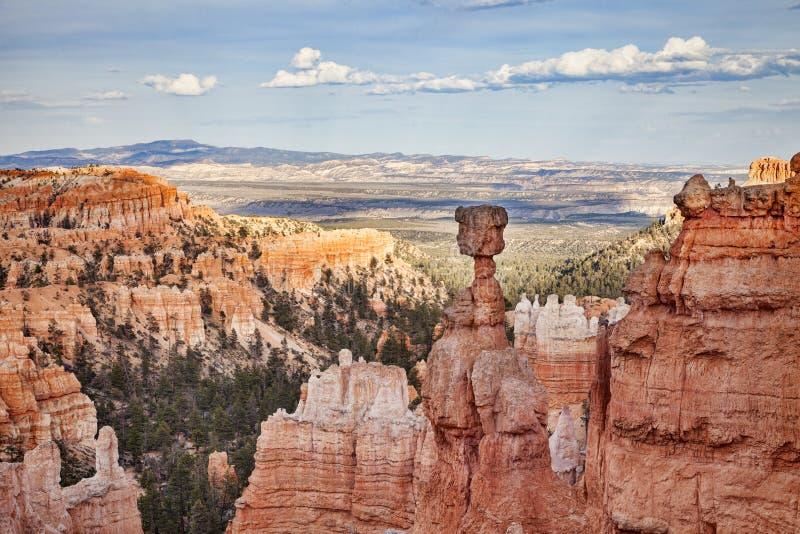 Martelo do ` s do Thor, Bryce Canyon National Park, Utá, EUA foto de stock royalty free