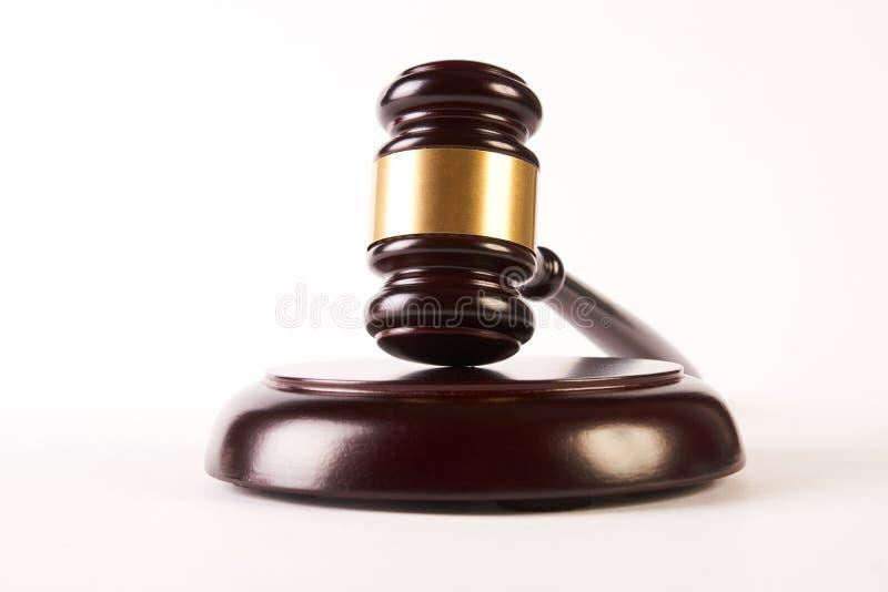 Martelo dos juizes ou malho da lei fotos de stock royalty free