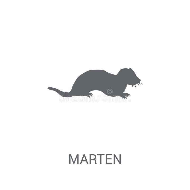American Marten Stock Vector. Illustration Of Graphic