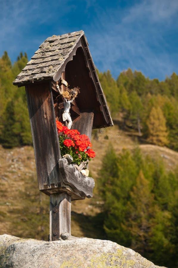 Free Marterl Wayside Cross Shrine Austria Stock Photography - 11372082