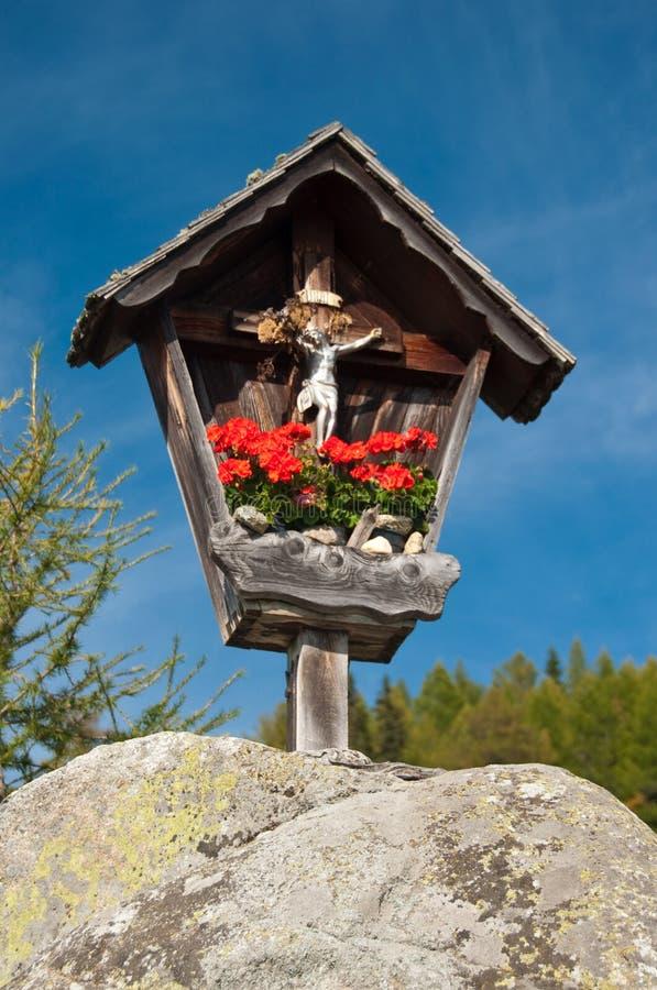 Free Marterl Wayside Cross Shrine Austria Stock Images - 11372094