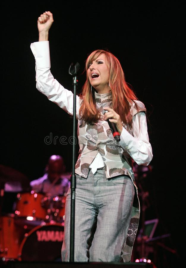 Martha Munizzi Performs in Concert. At the Hot 105 4th Annual Mother`s Day Gospel Concert at the Seminole Hard Rock Hotel and Casino in Hollywood, Florida on royalty free stock image