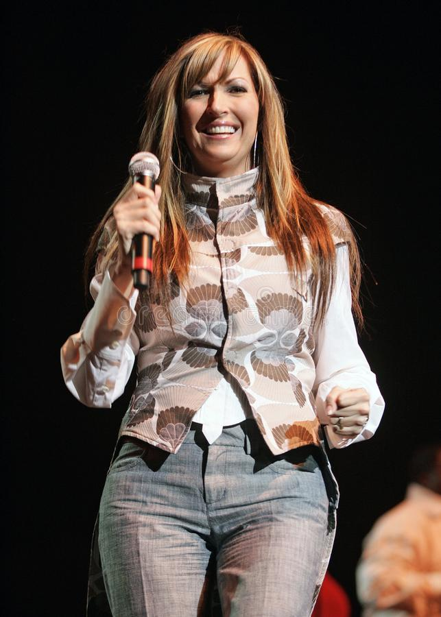 Martha Munizzi Performs in Concert. At the Hot 105 4th Annual Mother`s Day Gospel Concert at the Seminole Hard Rock Hotel and Casino in Hollywood, Florida on stock photo