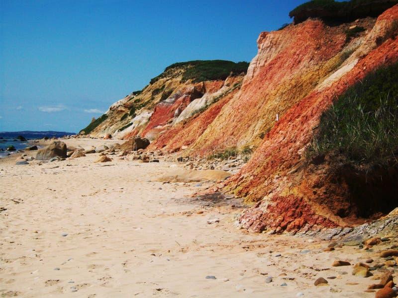 Martha's vinyard. Beautiful beach at Martha's Vinyard royalty free stock image