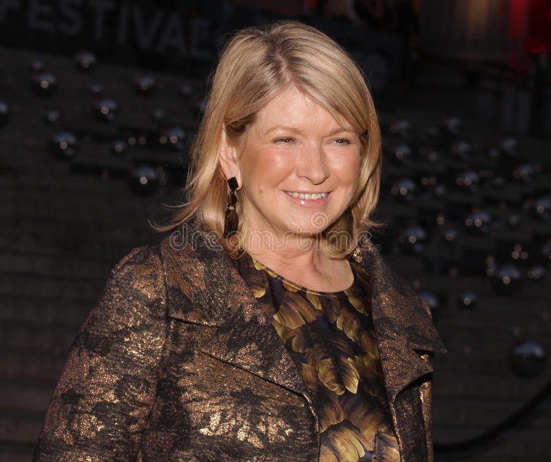 Martha Stewart fotografia stock libera da diritti