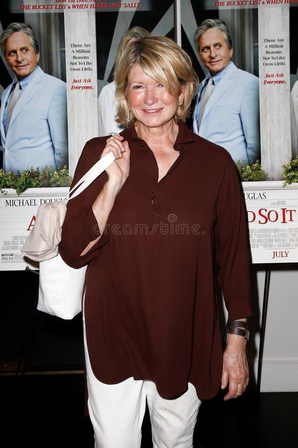 Martha Stewart imagens de stock royalty free
