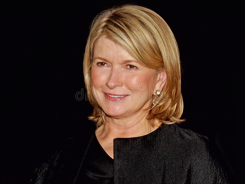 Martha Stewart photo libre de droits