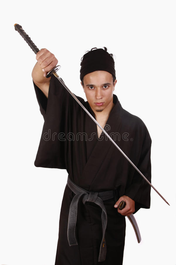 Download Martial artist stock image. Image of calm, iaido, extreme - 16021247