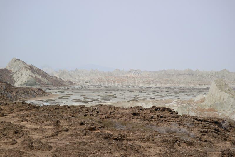 Martian Mountains imagens de stock royalty free