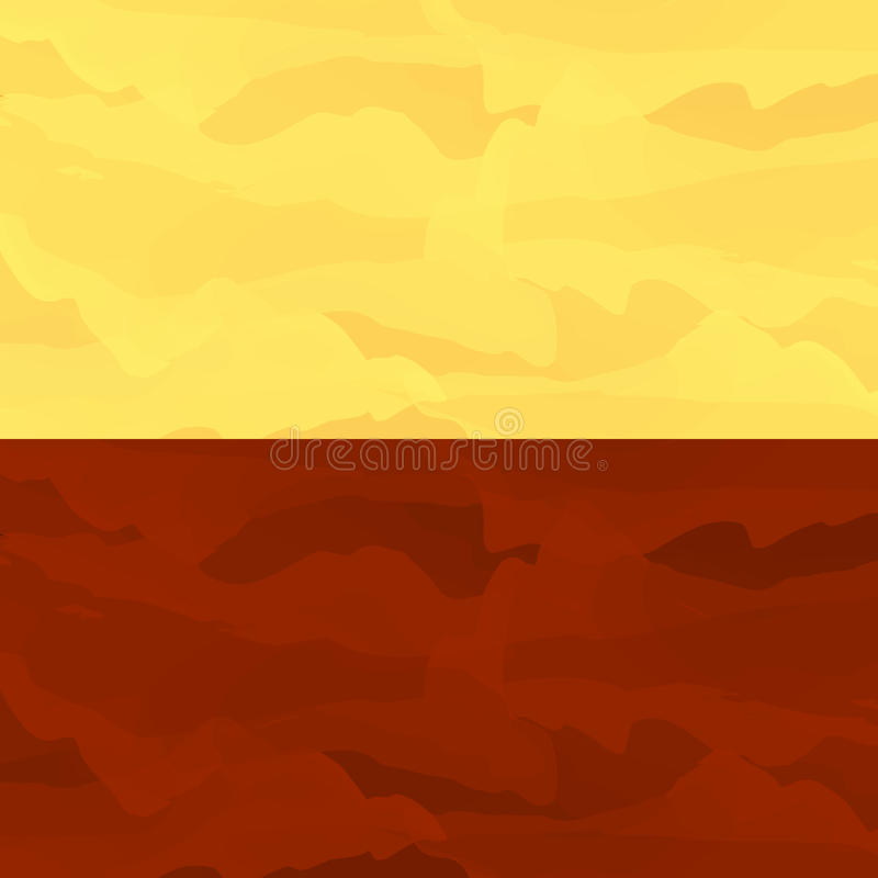Martian stylized background. Abstract martian background. Lowpoly vector illustration. Used meshes and transparency layers of particles. Mars stylized vector illustration