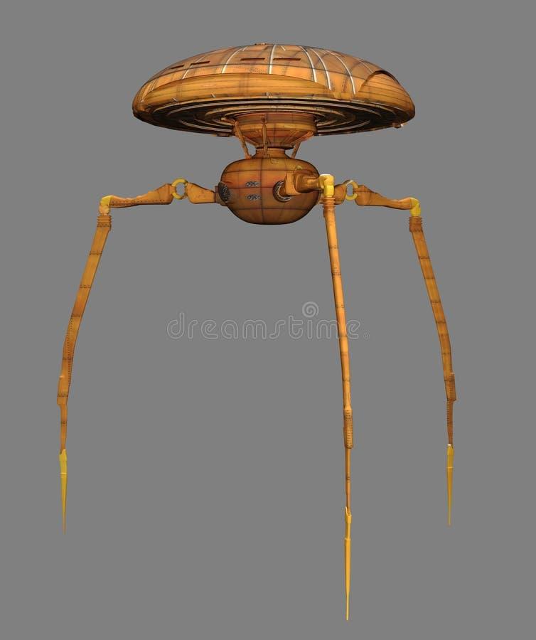 Martian Walker vector illustratie